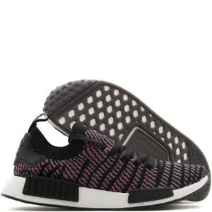 NEW adidas NMD R1 STLT PK/ Core Black