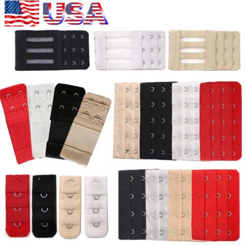USA Bra Extender Strap Extension 1 2 3 4 5 Hooks Supplies Re