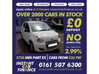 Suzuki Alto Sz Hatchback 1.0 Manual Petrol LOW RATE FINANCE AVAILABLE