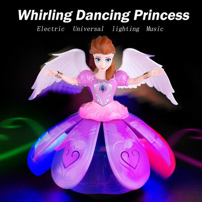 Toys For 7 Year Old (Toys for Girls Dancing Princess Doll LED Light 3 4 5 6 7+Year Old Kids Toy)