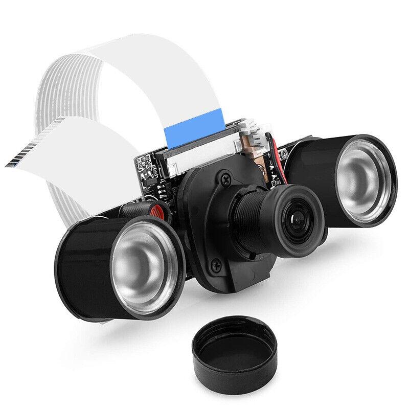 Night Vision Camera Module For Raspberry Pi 4,mini 5mp 1080p Video Ov5647 R7i4