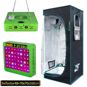 NEW - Hydroponic Grow Tent and LED Light (300W) Full Spectrum