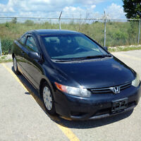 2006 Honda Civic DX-G Coupe (Reduced)