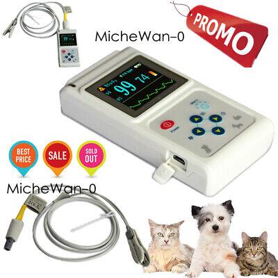 Contec Cms60dvet Animal Spo2 Pulse Oximeter Oled Veterinary O2 Pc Sw
