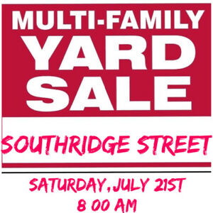 YARD SALE - OSHAWA