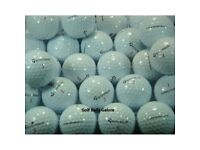 20 used Taylormade golf balls