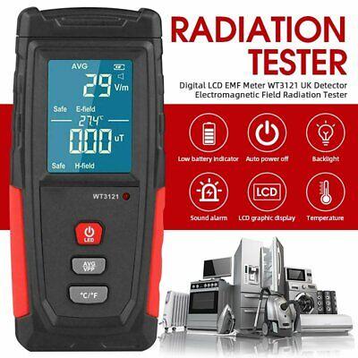 Electromagnetic Radiation Tester Emf Meter Electric Magnetic Field Detector Usa