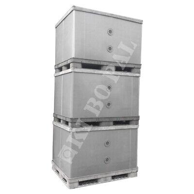 �� BigBox Kunststoffbox  EXPORTBOX Faltbox Großbehälter Lager (Lagerbehälter Kunststoff)