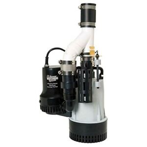 WANTED SUMP PUMP WITH BATTERY BACKUP