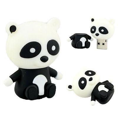 Cartoon Panda model USB 2.0 Memory Stick Flash pen Drive 4GB-32GB HUSB14