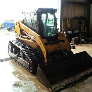2005 267B Caterpillar Track Skid Steer Low Hours Cab and Heater