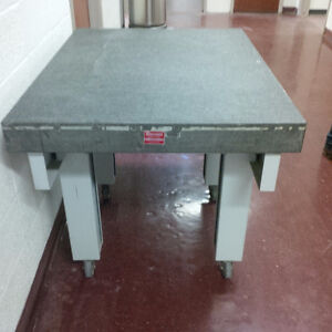 Granite Layout table and support frame