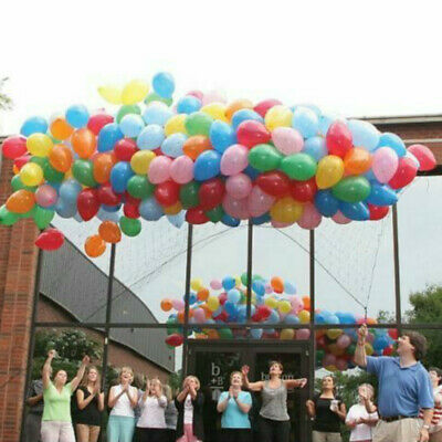Ballon Drop Bag Net Birthday Party Wedding Christening BBQ Christams New Year](Balloon Drop Net)
