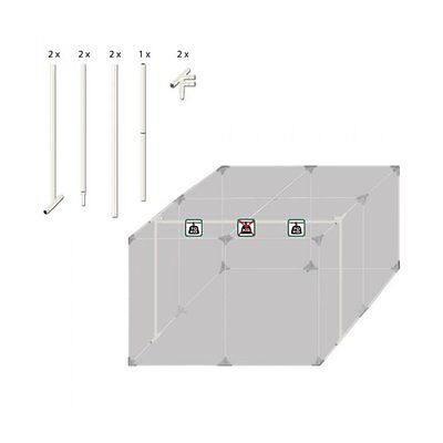 Homebox Classic HERCULES 240 Grow Tent Support Bars 140kg Weight Capacity 16MM