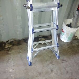 16' Folding Telescopic Ladder