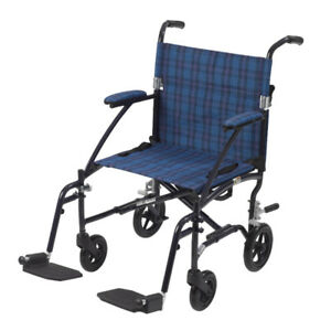 New Transport Wheel chair - On Sale! Comes with foot-rest