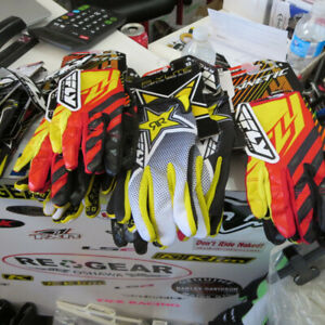 FLY Kinetic MX Motocross Dirt Bike Gloves NEW $25 Re-Gear