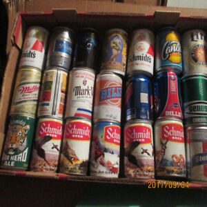21 Collectible Beer Cans BILLY Beer, Old Frothingslosh, Bills,
