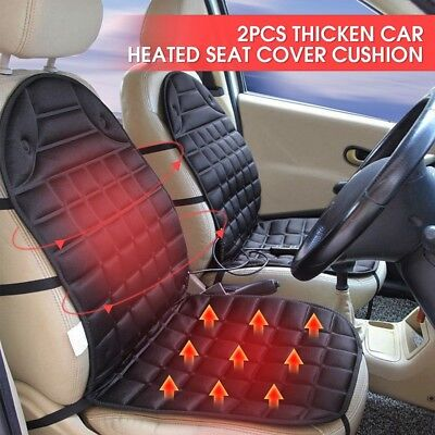 2x Winter Electricity Used Heating Warm Cushion Pad Jeep Comfortable Easy Use