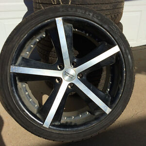 SLIM SPORTY TIRES WITH RIMS