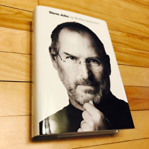 APPLE STEVE JOBS HARD COVER BOOK BY WALTER ISAACSON