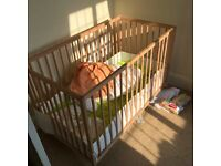 Wood BAby COT
