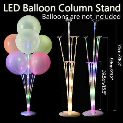 72cm LED Kunststoff Ballon Zubehör Basistisch Aupport Holder Cup Stick Stand