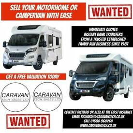 WANTED! Pre-owned Bailey Motorhomes