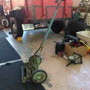 Reel Lawnmower