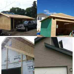 SHC! garage construction , basement reno, framing, drywall, .... Edmonton Edmonton Area image 4