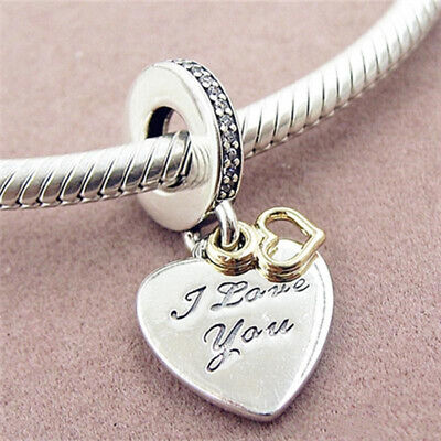 Valentine's Day Sale!! Pandora I Love You Forever Heart Dangle Charm Forever Heart Bead