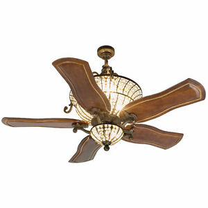 "Beautiful 54"" Cordova 5 Blade Ceiling Fan by Craftmade"