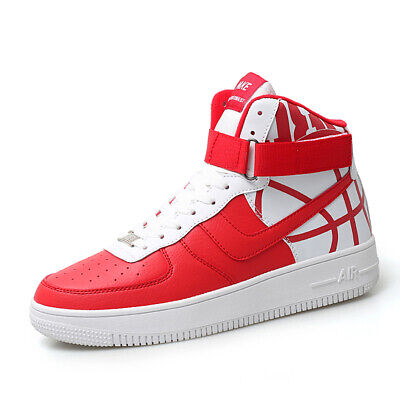 Adult High Top Sneakers (High-Top Outdoor Basketball Shoes Adult Sneakers Big size Breathable Comfortable )