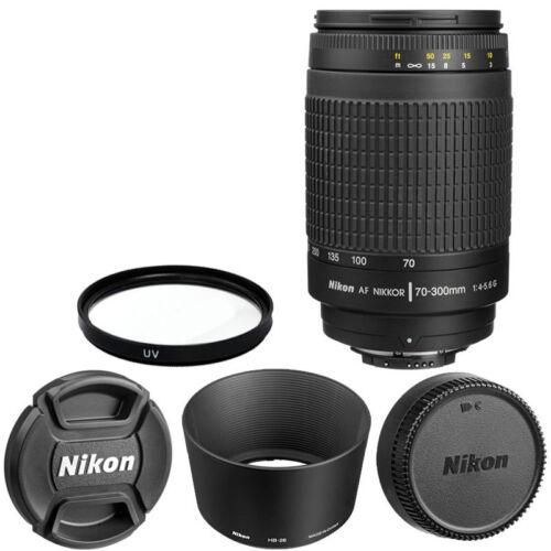 Купить Nikon 70-300mm f/4-5.6G - Nikon AF Zoom Nikkor 70-300mm f/4-5.6G Lens +  For DSLR Cameras Brand New In Box