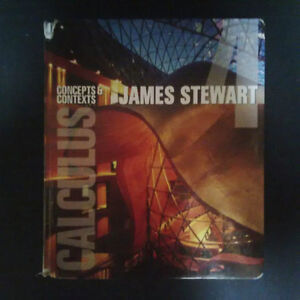 MAT1320 - Calculus Concepts and Contexts James Stewart, 4th ed.