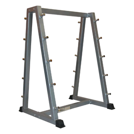 New commercial 10 bar barbell storage rack- gym, weights, barbells