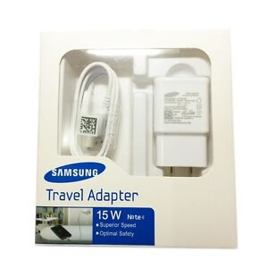 Neuf ORIGINALE Samsung Chargeur Rapide Cable S7 S6 S5 Edge USB