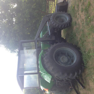 DEUTZ D6806,4WD,4 CYL,DIESEL TRACTOR WITH FREY LOADER  -AIR COOL Peterborough Peterborough Area image 5