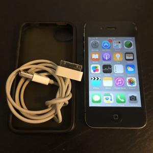 ~ UNLOCKED iPhone 4 32GB Black ~ Perfect Condition! ~