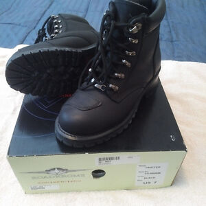 RoadKrome Leather Boots