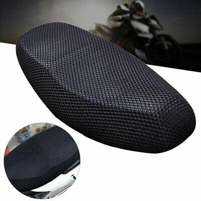 3D Motorrad Motorroller Sitzbezug Atmungsaktiv Netz Netzkissen Schwarz Teil (Motorroller Sitz)