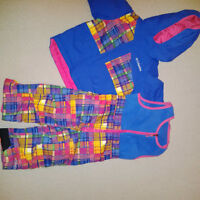 Columbia 2pc Snow Suit - Toddler Girl - Size 24months/2T - EUC