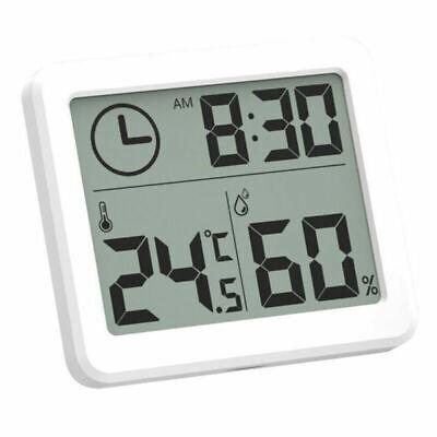 NEU Digital Thermometer Hygrometer Luftfeuchtigkeit Temperatur Innen Alarm Uhr