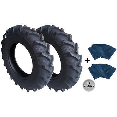 2x Traktorreifen 7.50-16 8PR//95A8 BKT Front Reifen für Traktor Schlepperreifen