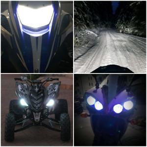 SNOWMOBILES/MOTORCYCLES/ATV L.E.D. KITS