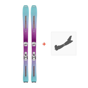 2018 153cm Head Great Joy WMN All Mountain Powder skis - New