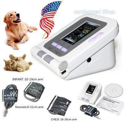 Veterinary/VET/Animal Blood Pressure Monitor NIBP,Infant, Neonate,Child Cuff USA