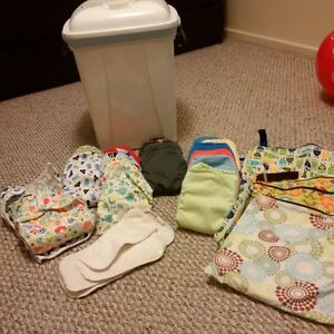 HUGE Cloth Diaper Lot - everything you need! Kitchener / Waterloo Kitchener Area image 1