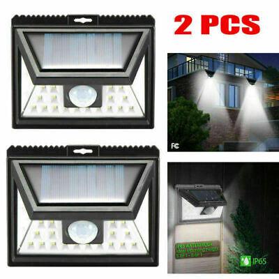 24LED Solar Lights Outdoor Super Bright Motion Sensor Lights Wide Angle Wireless ()