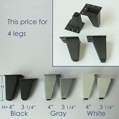 metal aluminum furniture leg cabinet stand feet ...